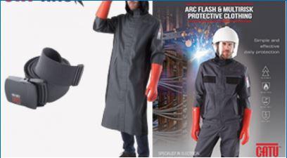 CATU continues to develop its Arc Flash CAT'ARC clothing range